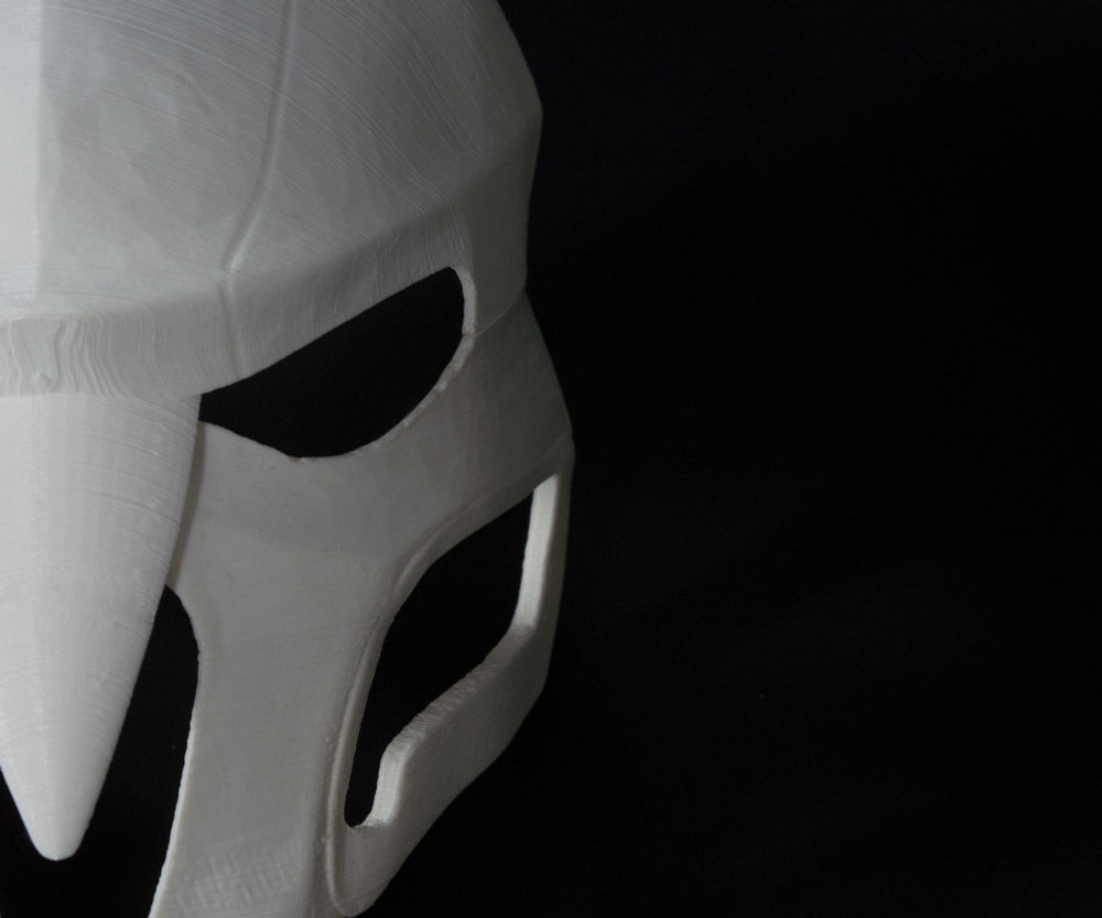 DIY Reaper Mask From the Overwatch Game