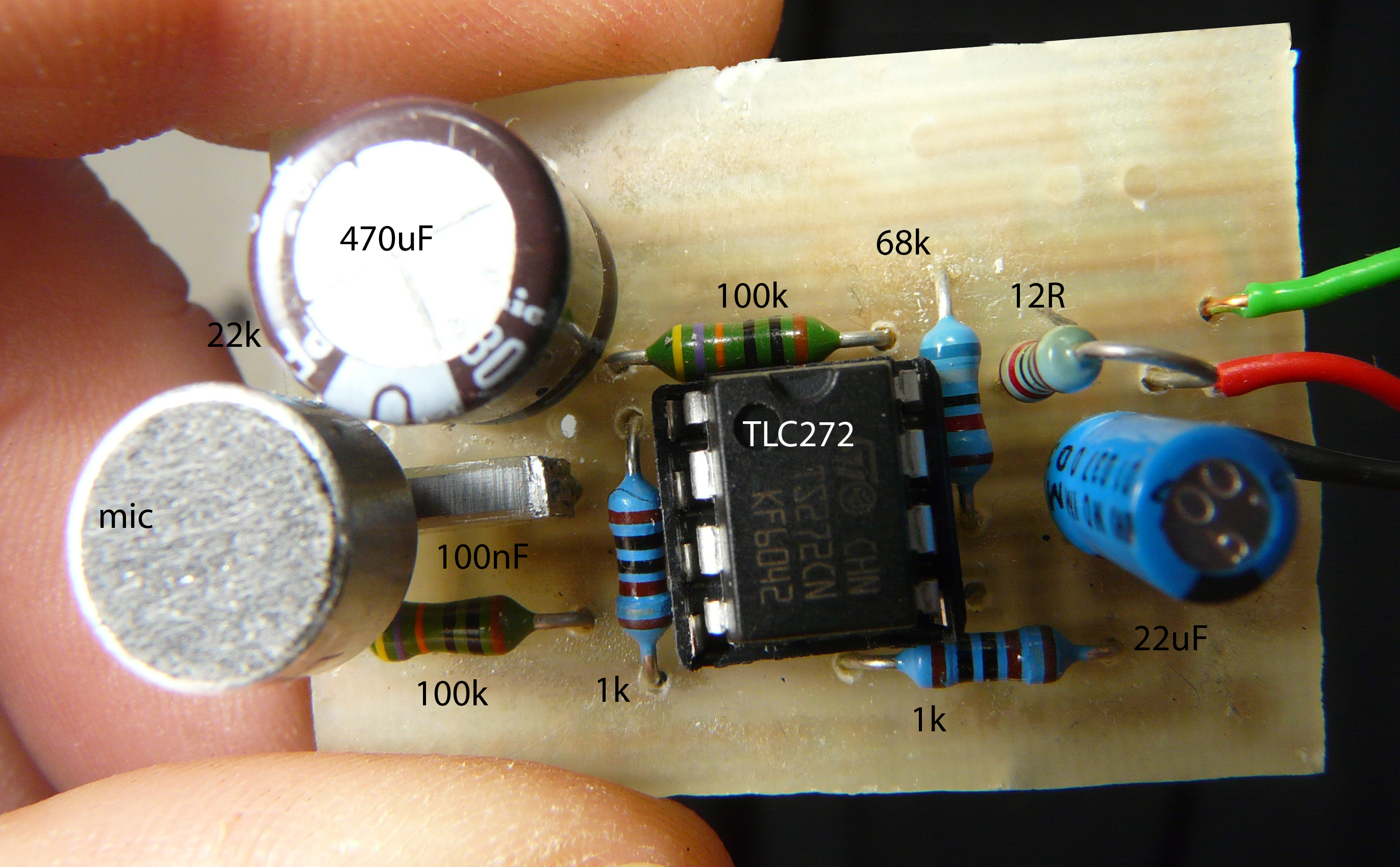 Sound Pressure sensor for Arduino based on ZX-sound board