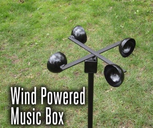 Wind Powered Music Box