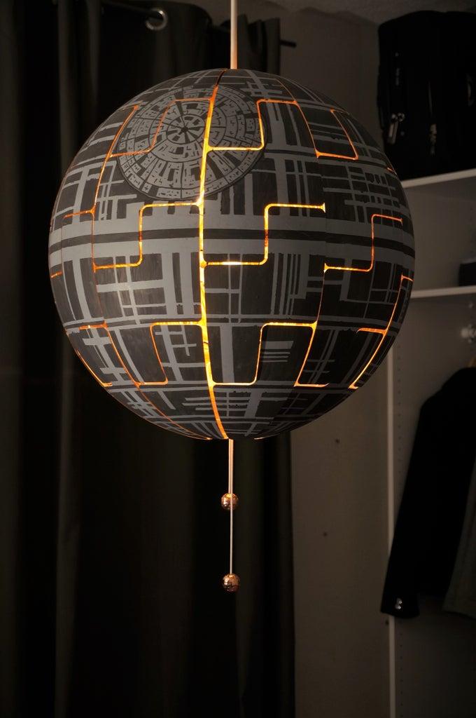 IKEA PS 2014 Death Star Lamp