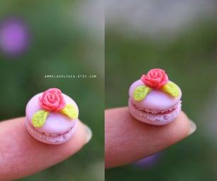 微型马卡龙 - 聚合物粘土