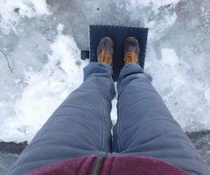烤身脚趾 - 绝缘脚垫