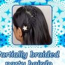 Partially Braided Party Hairdo