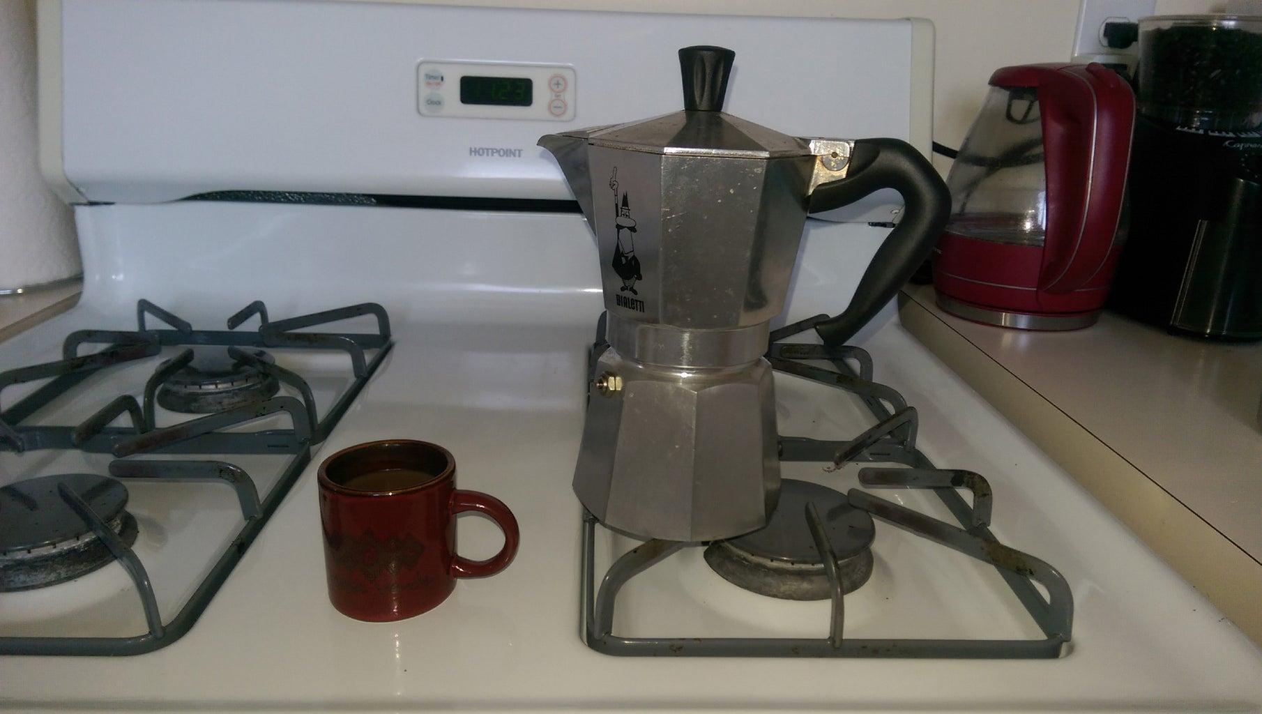 Stovetop Espresso (Moka)