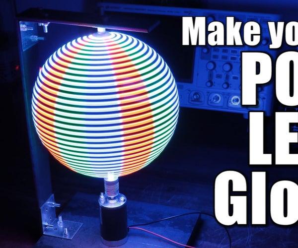 Make Your Own POV LED Globe