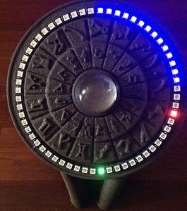 Stargate Inspired Arduino NeoPixel 3D Printed Clock