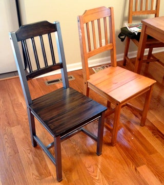 Refinishing Old Dining Room Set 12, Refurbishing Dining Room Chairs