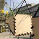 Planter crates without screws