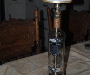 Inexpensive Bottle Lamp