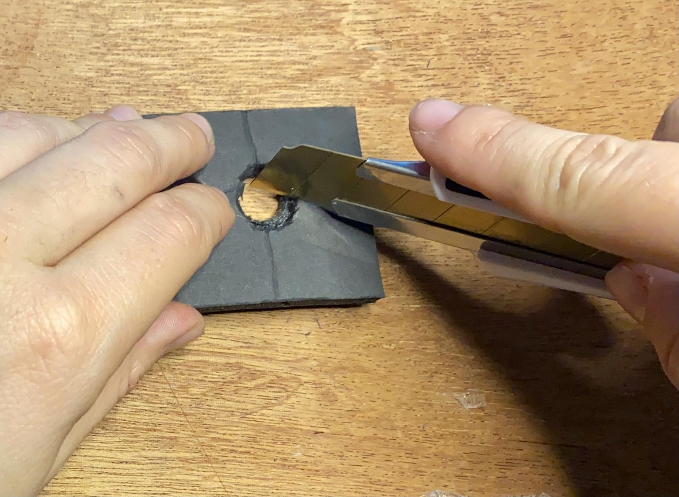 Cutting Out the Sensor