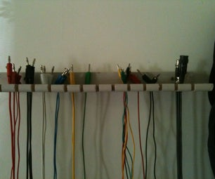 Cable Hanger (Do You Have Wires & Cables Everywere?) I DID!