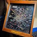 Cyberpunk 2077 Metro Map Laser-Cut LED Sign