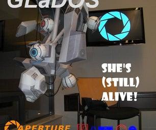 Full Scale GLaDOS Papercraft Replica