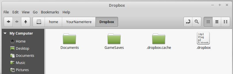 Create a Cloud Synced Folder - Linux