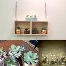 Easy Hanging Shelf