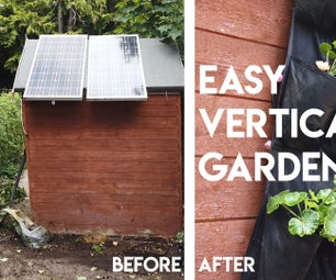 Easy Vertical Garden