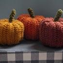 Gourdgeous Crochet Pumpkins