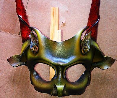 Basic Leather Half mask