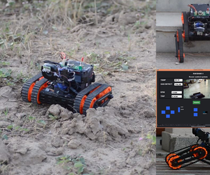 Rakshak One : a Rover for Data Gathering and Surveillance With Features of  Data Logging ,voice Alerts and Distance Measurement.