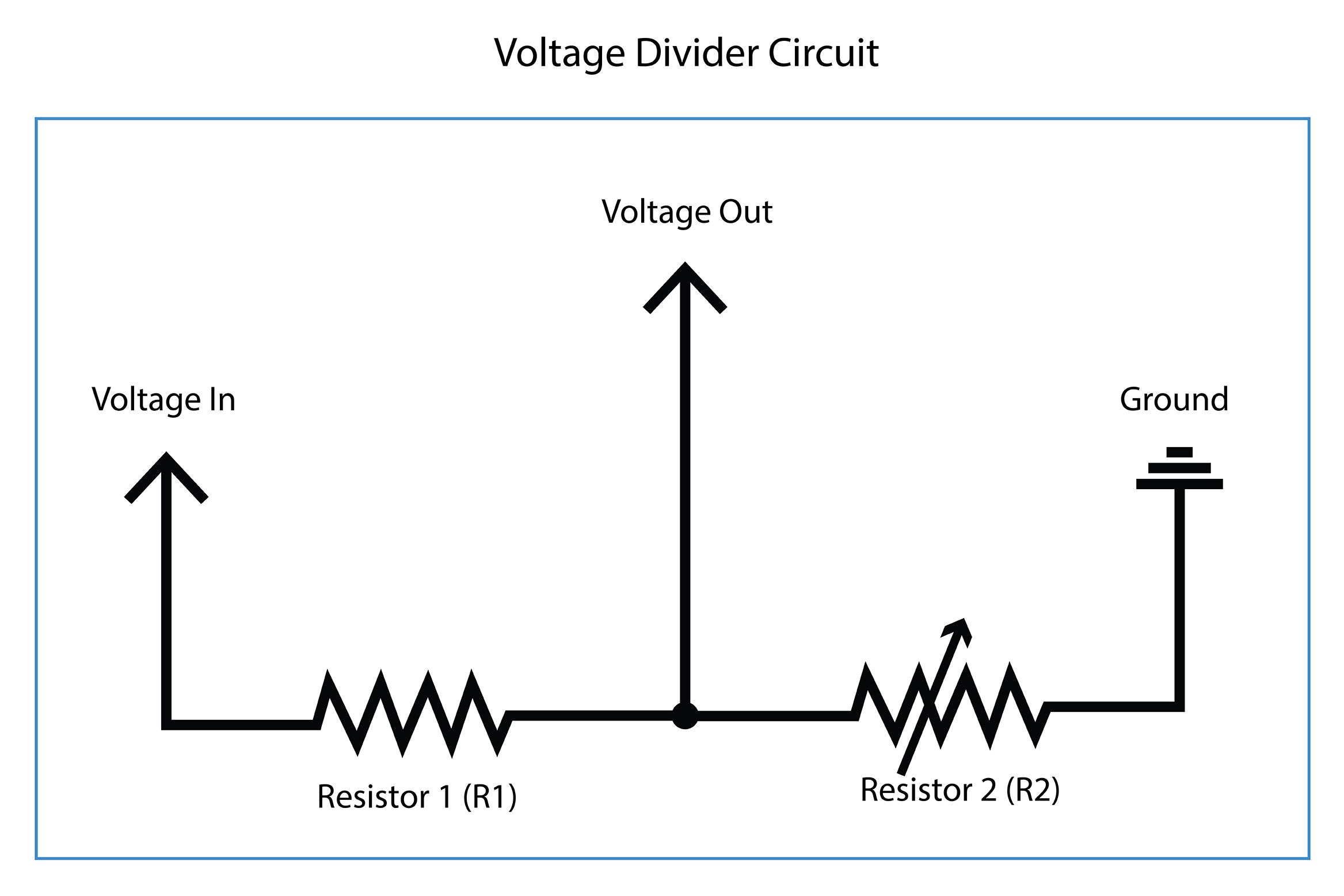 Intro To Wearable Electronics Two Day Workshop At Cca Work Page Resistor That Allows You Control And Vary The Resistance It Value Of Fixed R1 In Circuit Is Important Because Will Determine Range Voltage Coming Out From Point