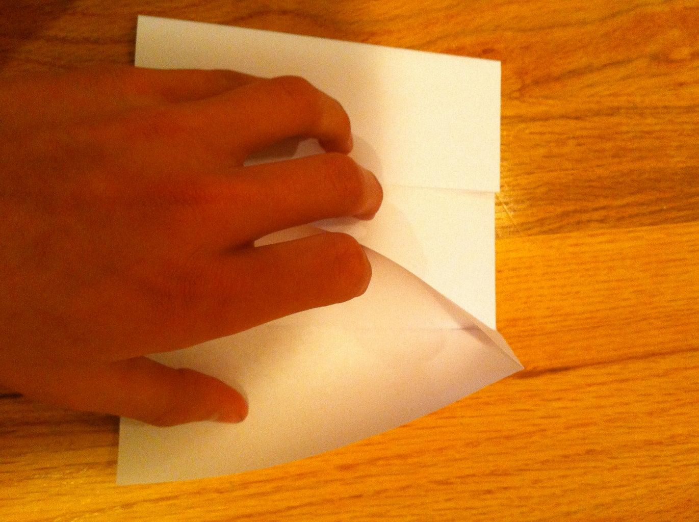 Now Make a Triangular Squash-fold.