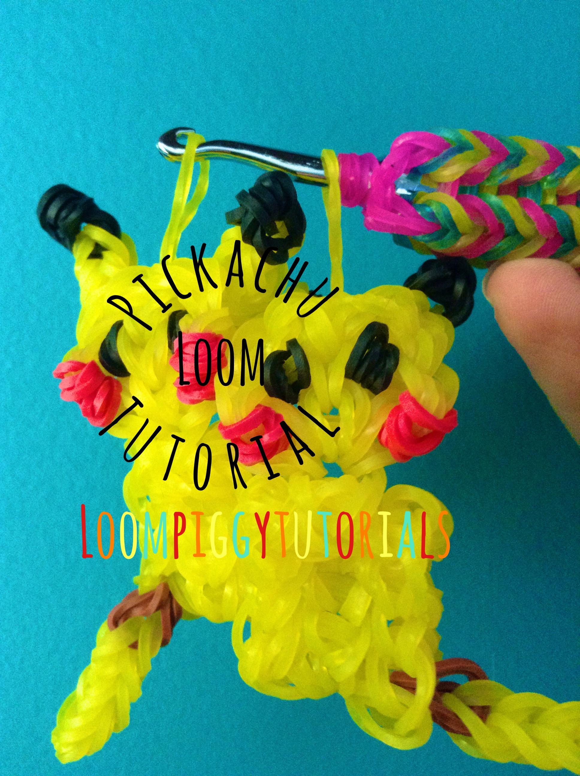 Pickachu Loom Charm