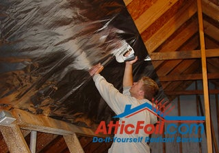 How To Install Radiant Barrier On Attic Rafters In 5 Steps 5 Steps Instructables
