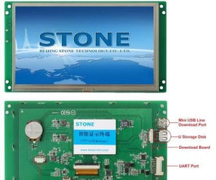 Ov7670 Camera Module Connection With STONE LCD