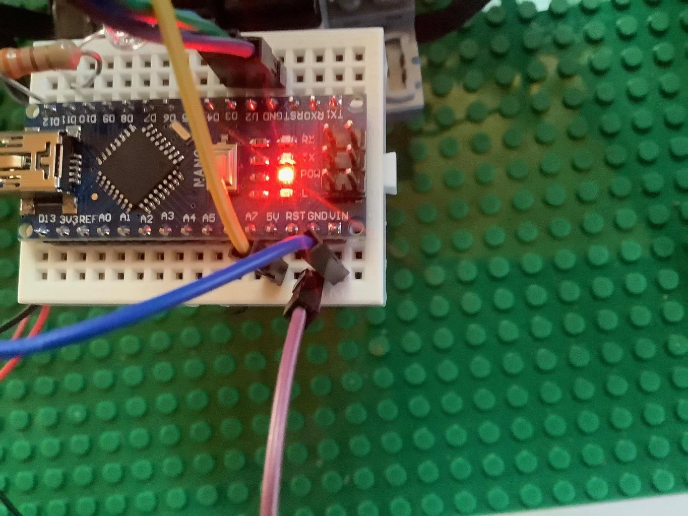 Add the Arduino and Electronics