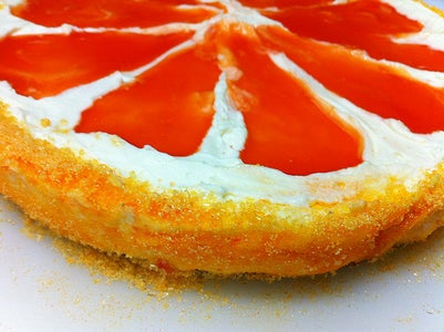 Grapefruit Mousse Pie