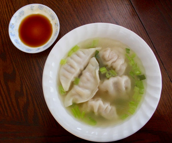 Gyoza Dumpling Soup