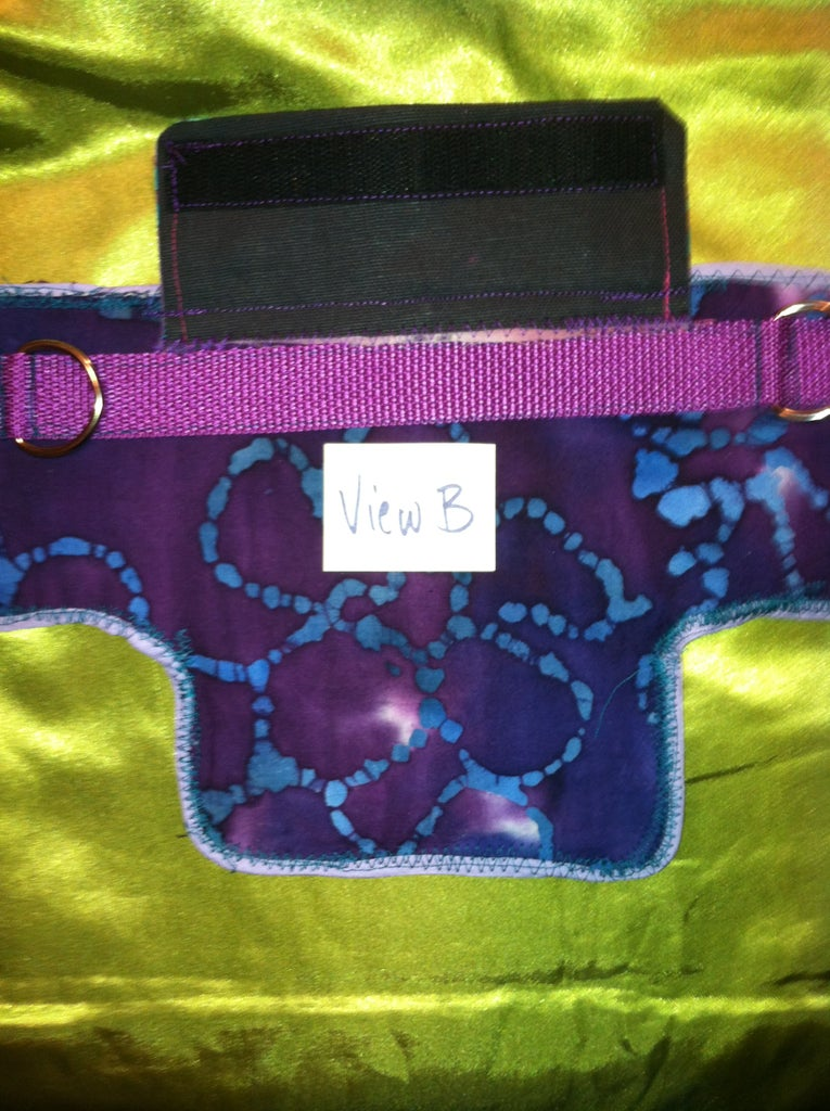 Add Pocket With Gusset