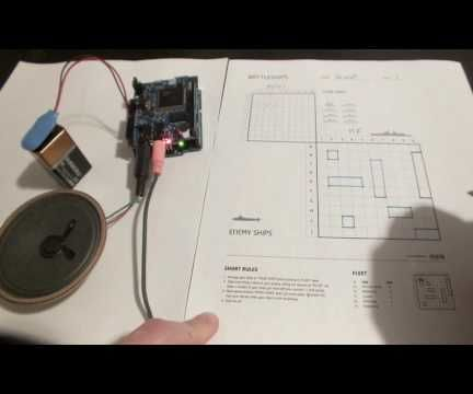 Voice-based Battleship Game for Arduino (with AI)