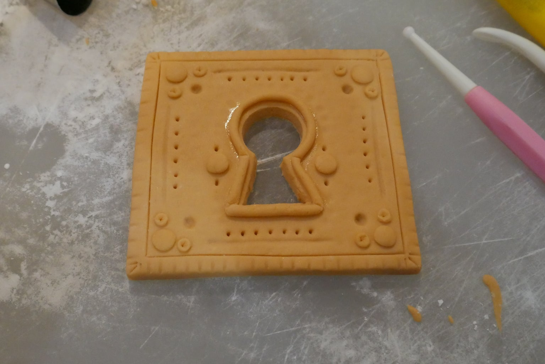 Fondant Lock and Key
