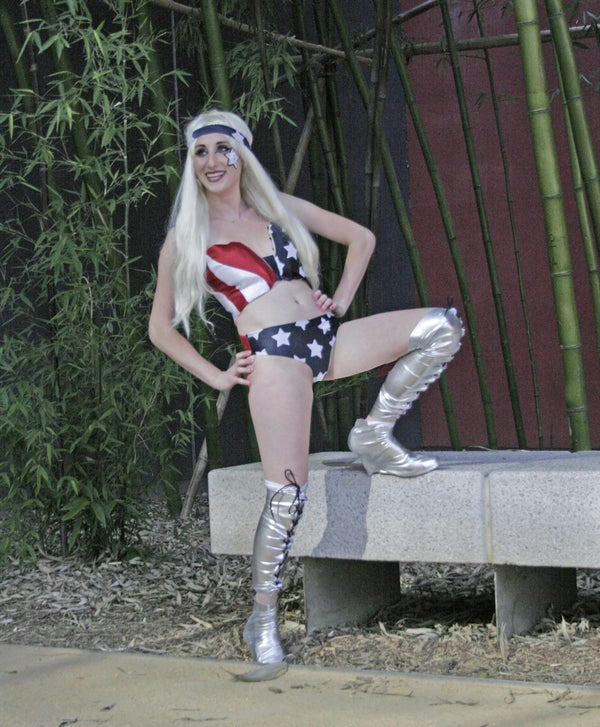Lady Gaga American Flag Costume