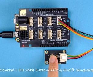 使用Swift语言控制带按钮的LED