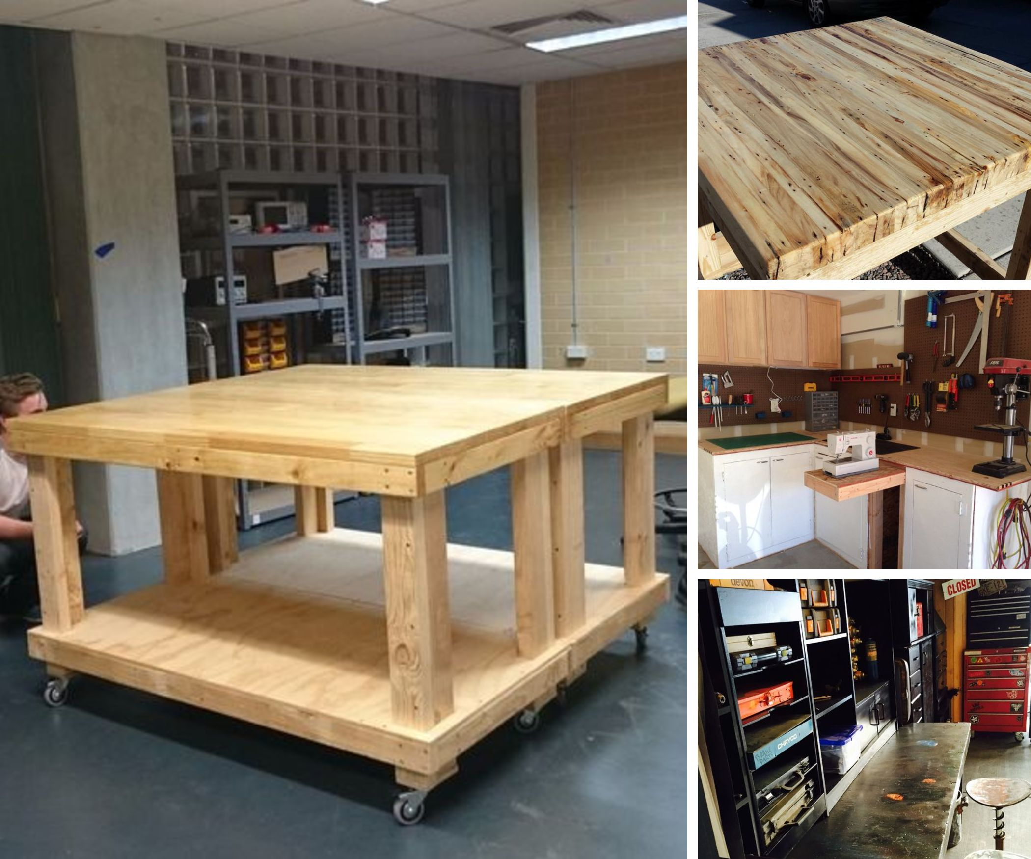 Work-benches & Maker spaces