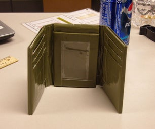 High Quality Duct Tape Wallet **UPDATED**