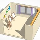 Cozy Study Room (SCENE)😀
