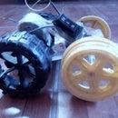 Diy 2wd off road mini electric car