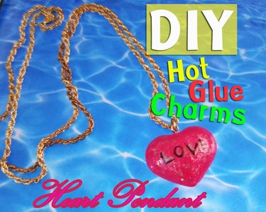 DIY Hot Glue Charms Necklace
