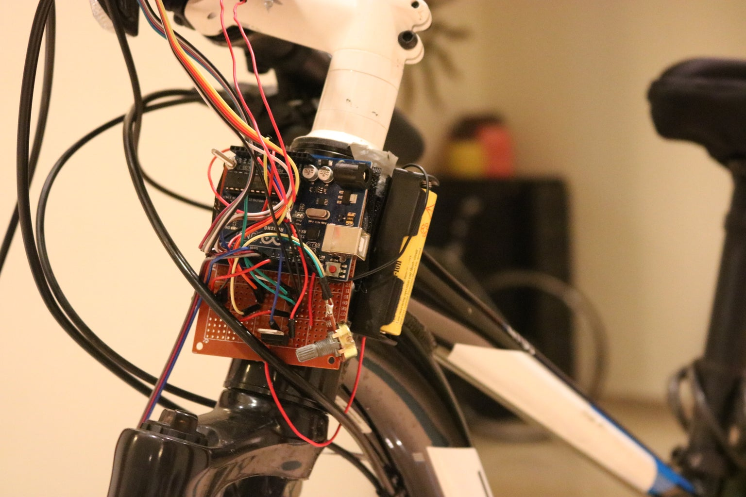 Bicycle Speedometer Display