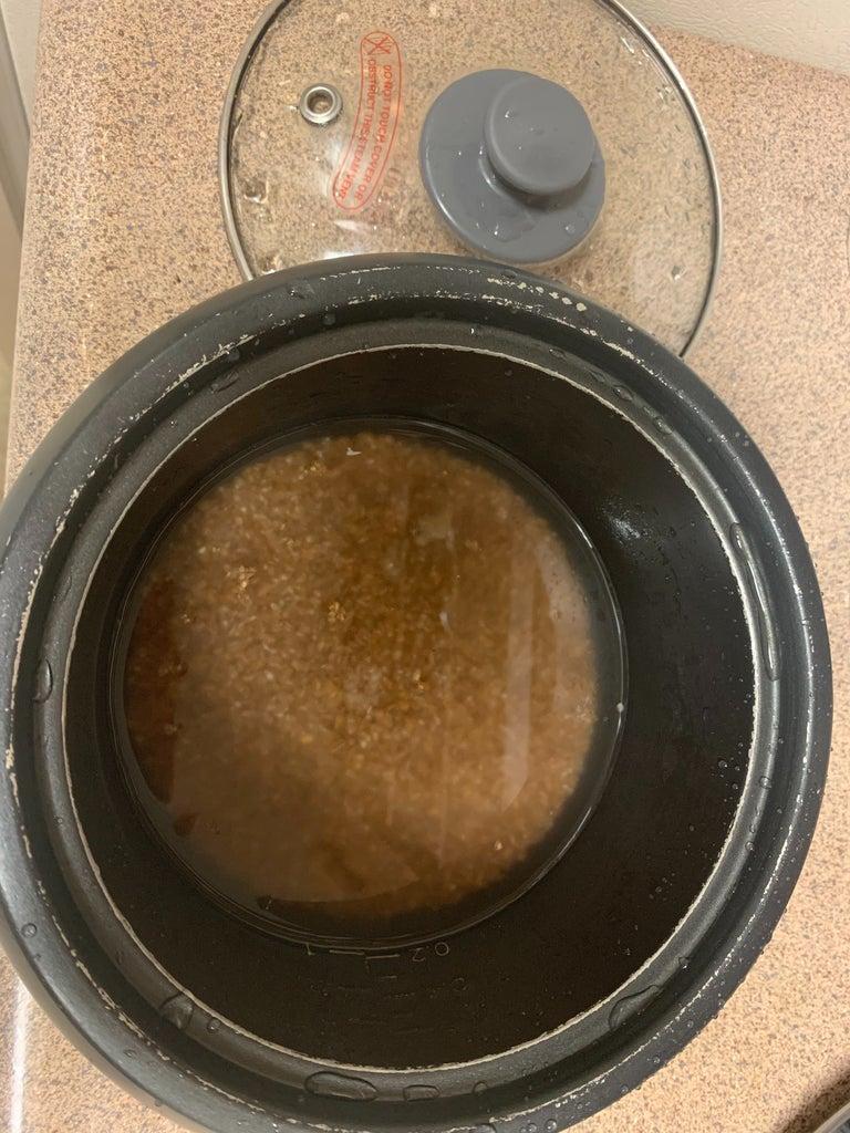 Prepare the Base Bulgar Wheat