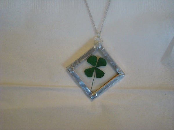Wearing of the Green Four Leaf Clover
