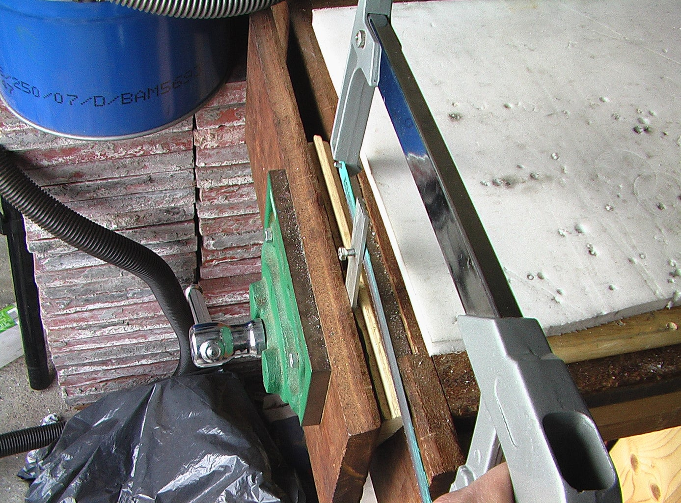 Making the Headstock (central Supports)