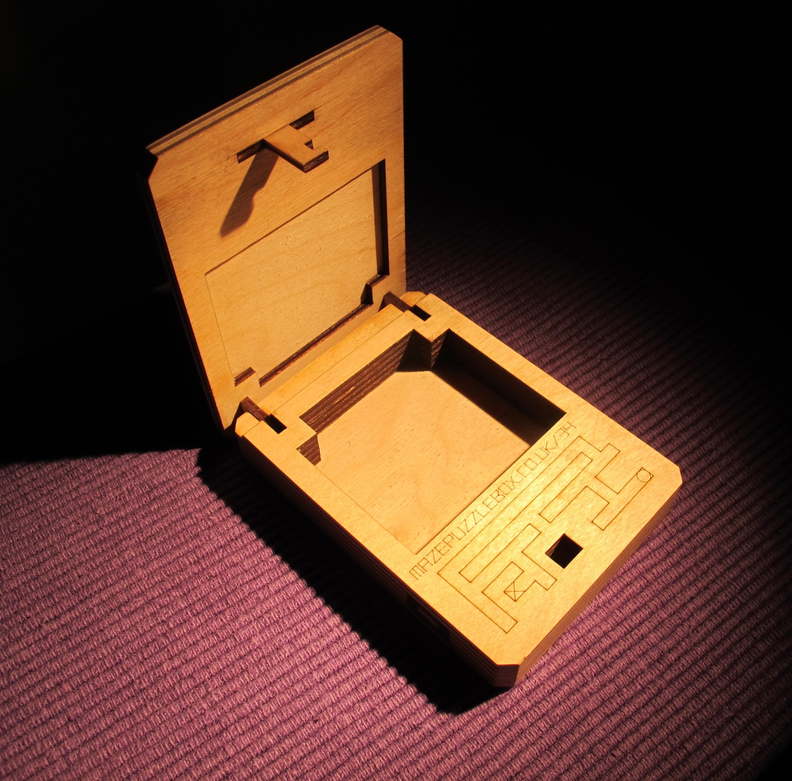 maze puzzle box