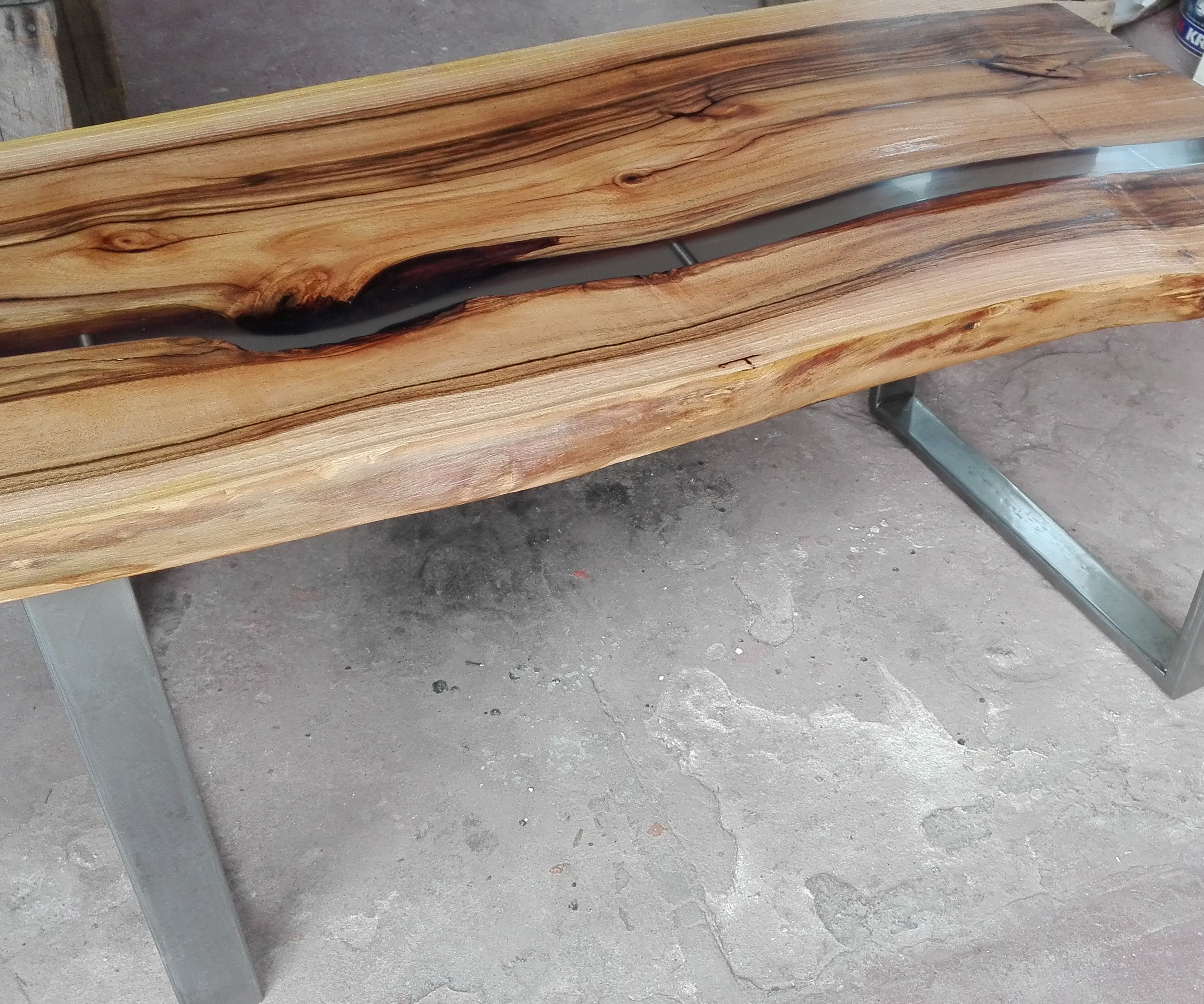 Picture of: Epoxy River Coffee Table 14 Steps With Pictures Instructables