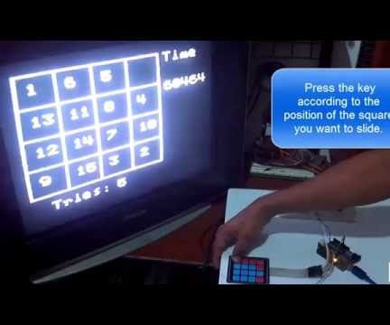 Number Puzzle With Arduino