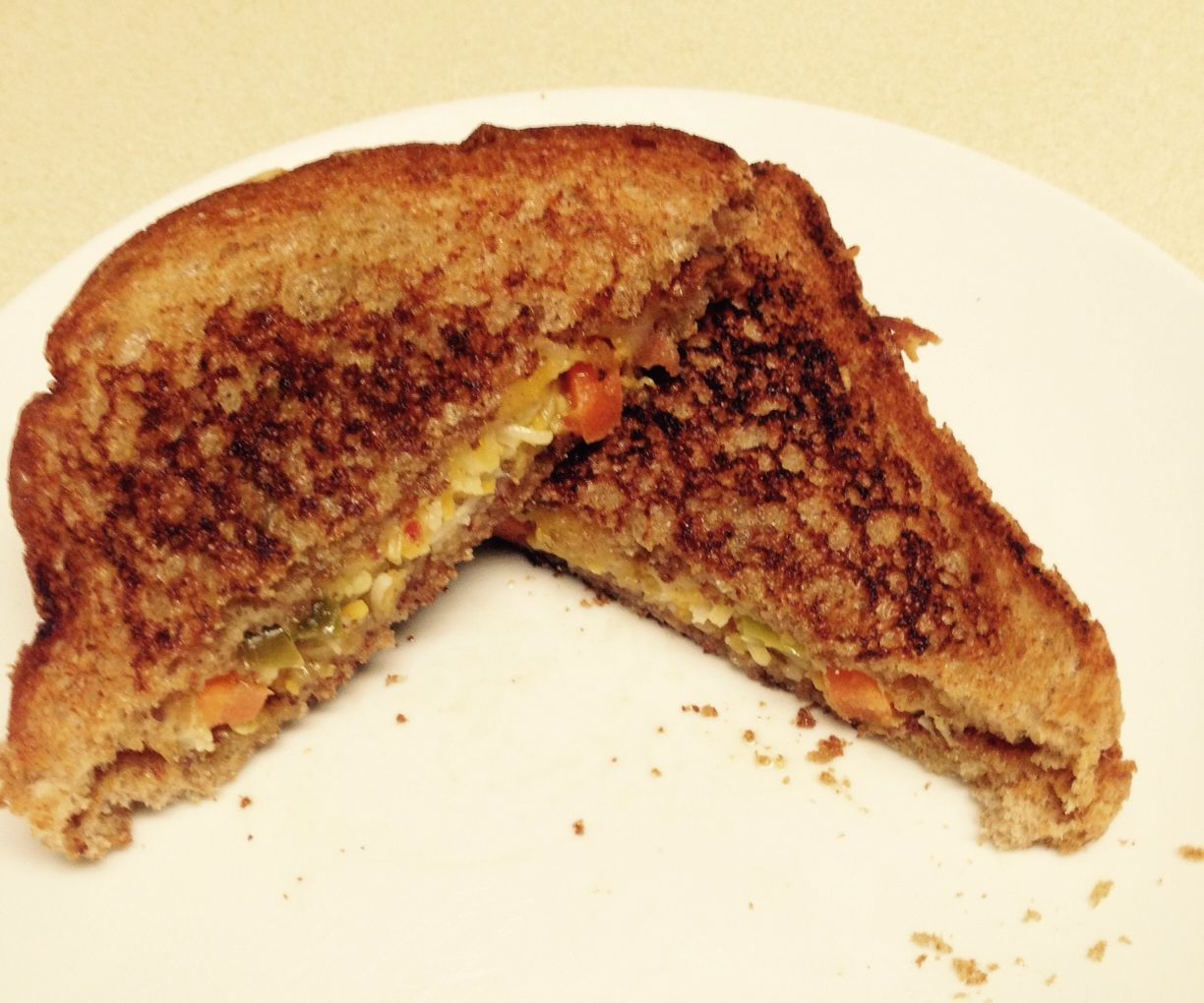 Ultimate Spicy Bacon Grilled Cheese