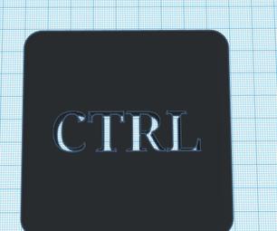 Giant CTRL Key